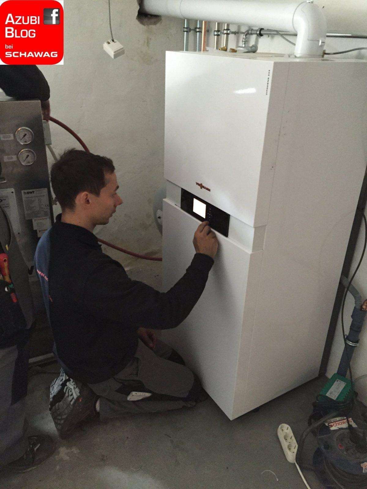 29.05.2015: Niklas Alberts: Gasbrennwertanlage installiert